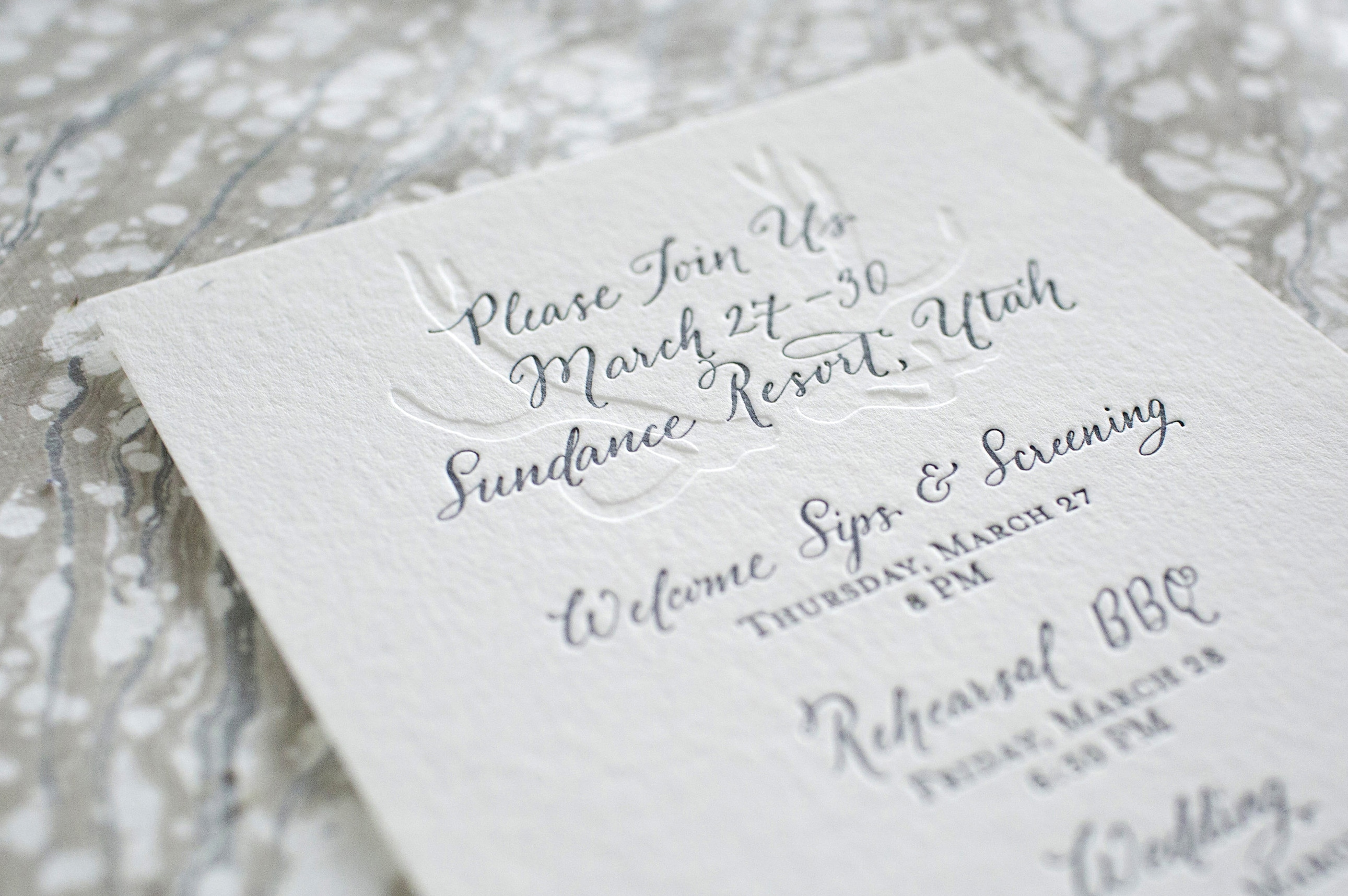 Custom Calligraphy for Wedding Invitations | Fleur de Letters